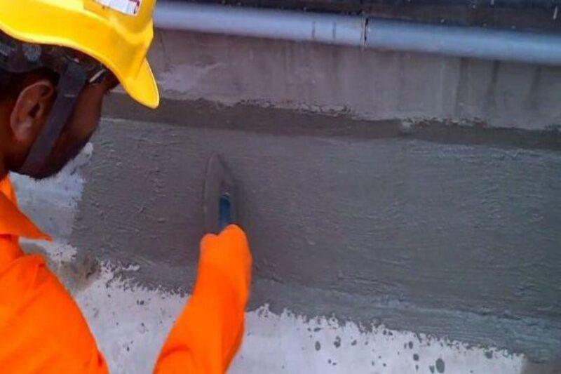 Çimento Esaslı Sürme İzolasyon İle Su Yalıtımı