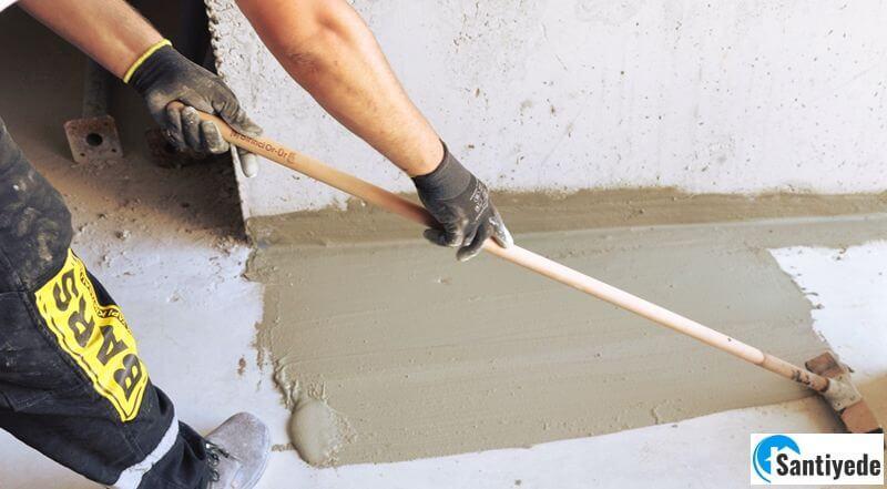 çimento esaslı sürme izolasyon yapılması
