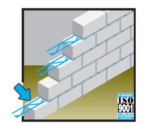 Gazbeton Duvar Murfor Kullanımı