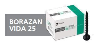Borazan Vida 25 mm