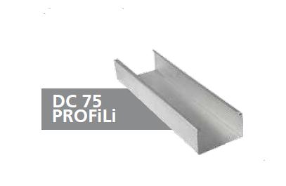 DC75 GALVANİZ PROFİL