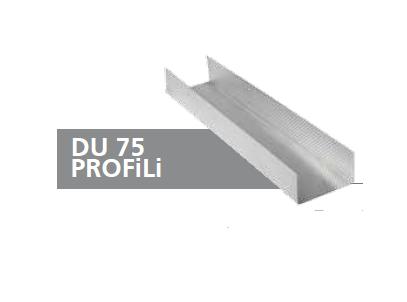 DU75 GALVANİZ PROFİL