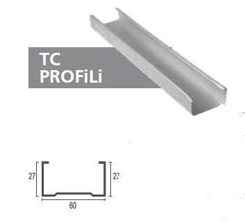 Galvaniz Alçıpan TC Profili