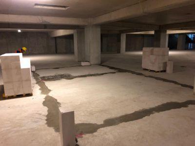Gaz beton Altı Temizlik ve Su Dökülmesi