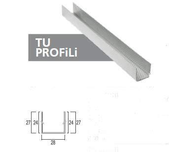 TU Galvaniz Alçıpan Profili