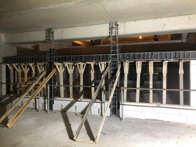 Gazbeton Duvar betonarme hatıl
