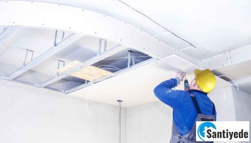 asma tavan nasıl yapılır