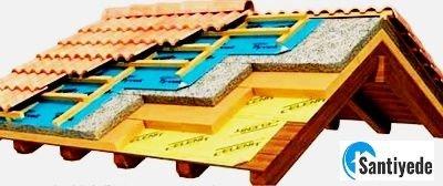 mertek üzeri çatı ısı yalıtımı