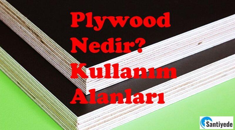 plywood - pleymut nedir