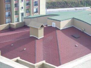 Çatılarda su yalıtımı - arduvazlı membran