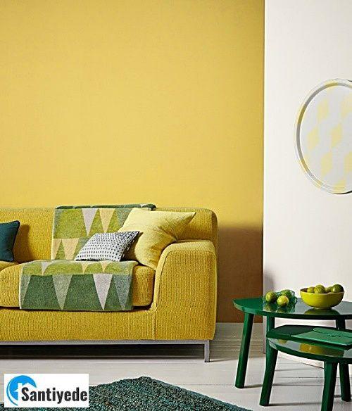 Hardal sarı renk tonu