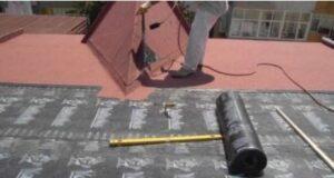 Çatılarda su yalıtımı plastomerik örtü