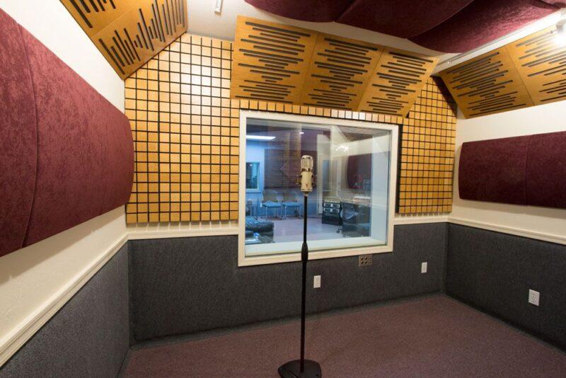 akustik yalıtım ses kayıt stüdyosu