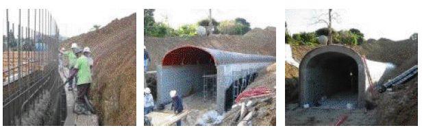 karayolu tünel yapımı