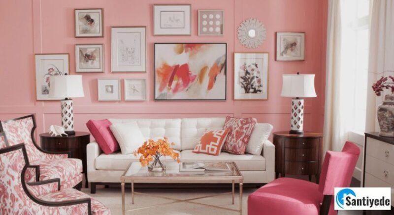 pembe duvar boyası renkleri
