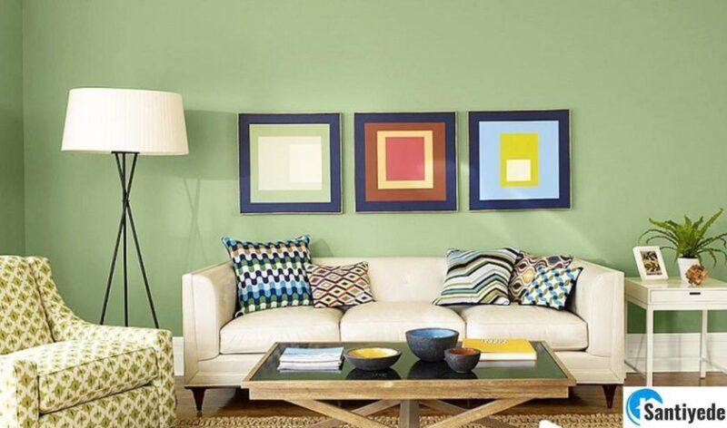 yeşil duvar boya renkleri