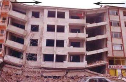 deprem çekiçleme etkisi yapıda hasar