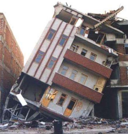 Deprem binaların çarpışma etkisi
