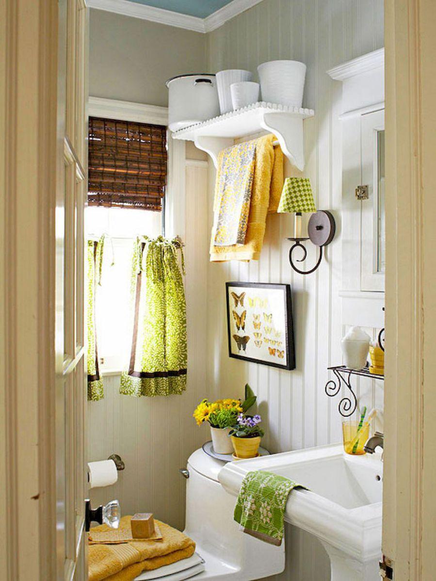 banyo dekorasyonu renk eklemek