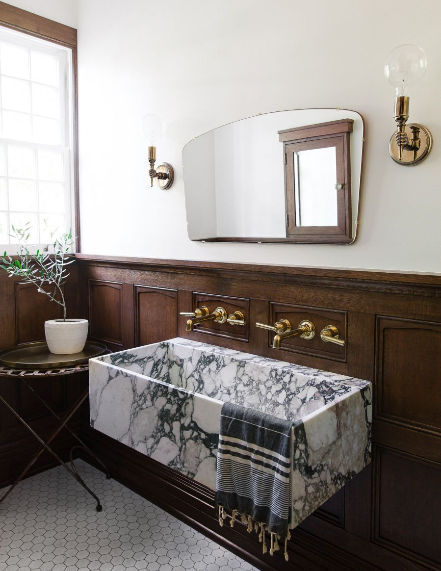 Kahverengi banyo renk seçimi