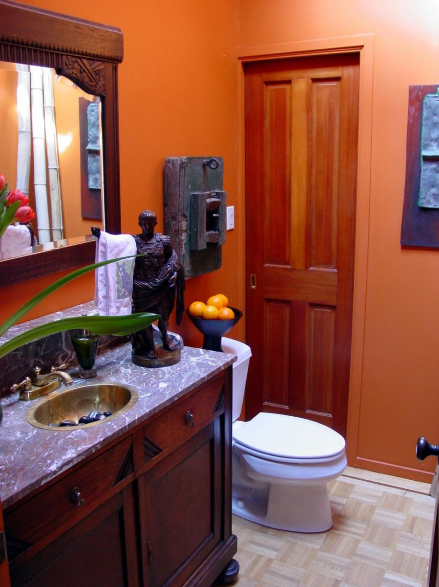 turuncu banyo renk seçimi
