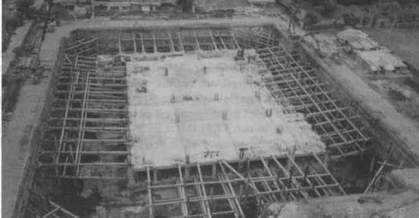 Ada kazı yöntemleri temel çukuru