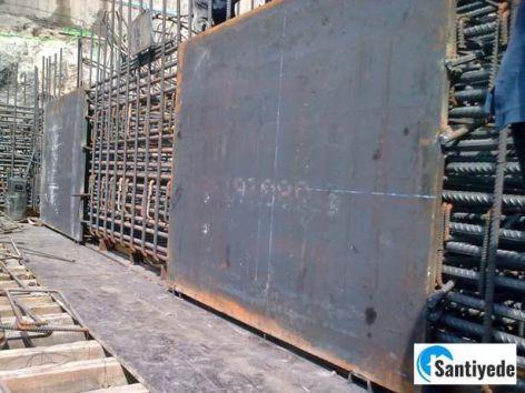 Betonarme Kuşak Kirişi İçerisinde Çelik Plaka