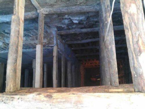 Betonlaması bitmiş kuyu perde