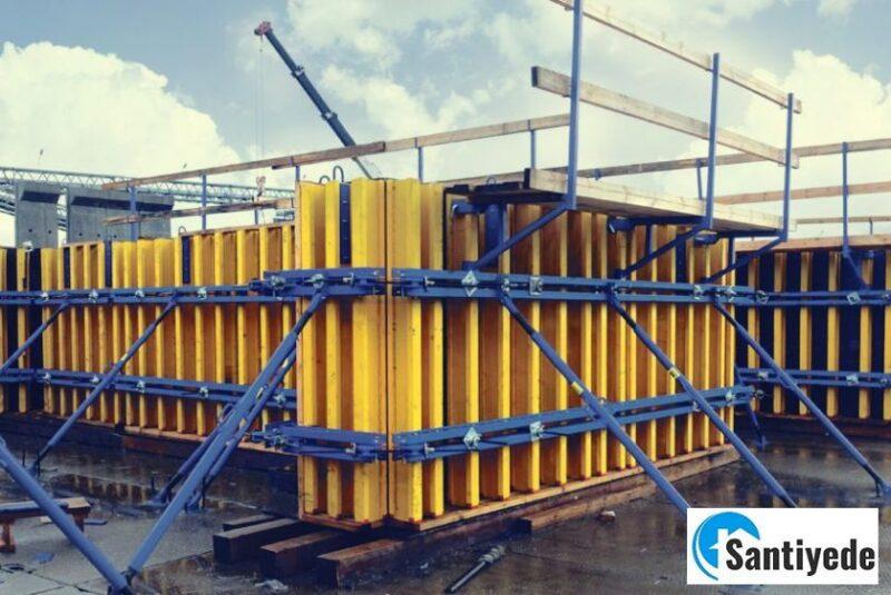 Endüstriyel inşaat kalıp çeşitleri