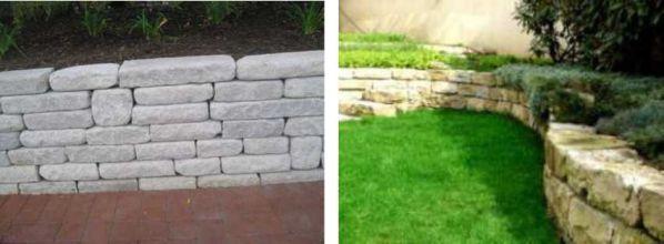 ince yonu doğal taş duvar