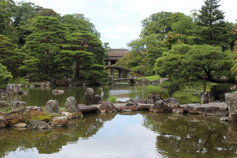 Kastsura İmparatorluk Japon bahçesi