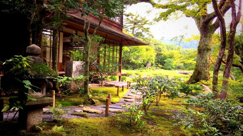 Murin-an japon bahçesi