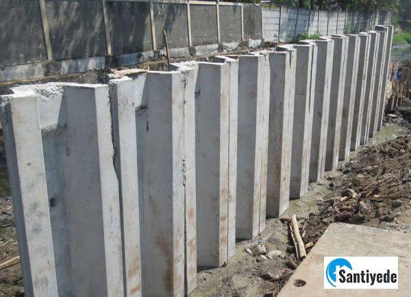 betonarme palplanş imalatı yapılması