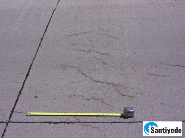 betonda çatlak oluşması