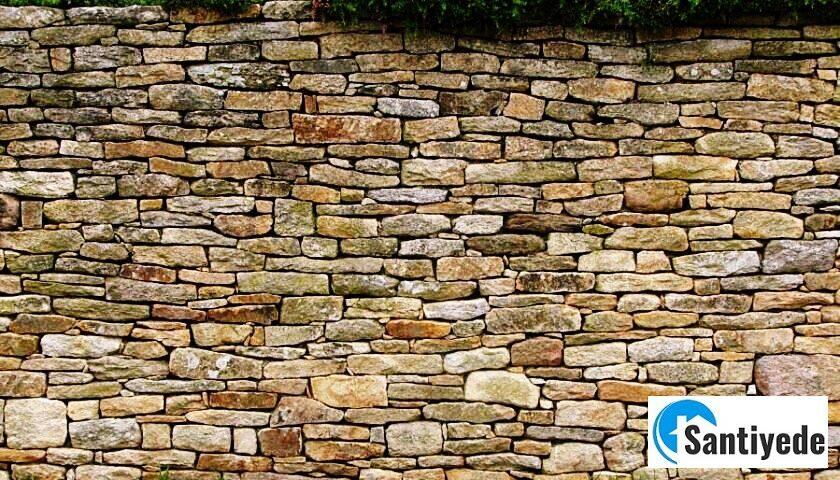 doğal taş duvar yapılması