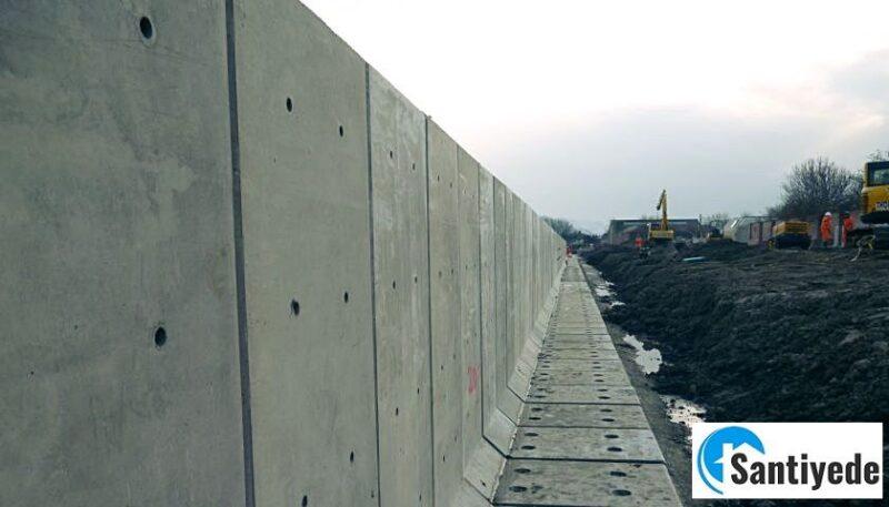 istinat duvarı ön boyutlandırma