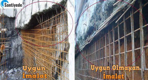 Aç-kapa (kademeli) betonarme perde donatı filizleri