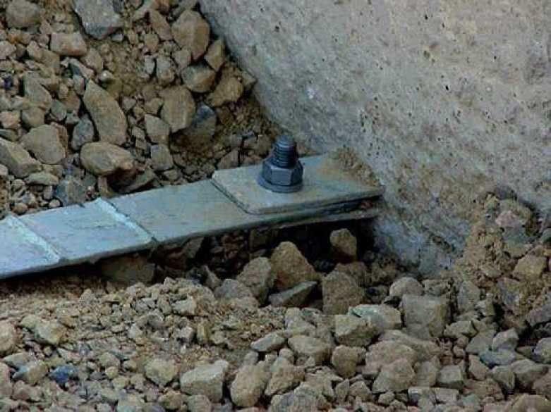 Toprakarme duvar Çelik şerit bağlantı elemanları
