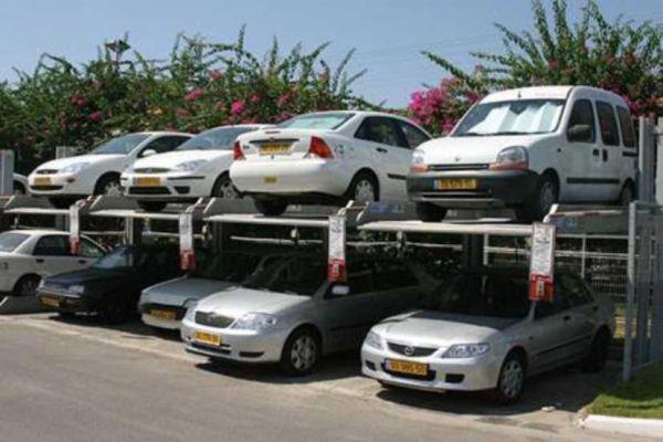 Küçük otoparklarda kapasite artırımı için elektro-mekanik platformlar