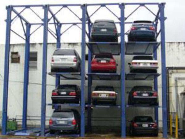 Kapasite artırımı için asansörlü elektro-mekanik platformlar