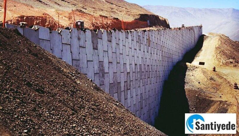 Toprakarme duvar yapılması ve toprakarme elemanları