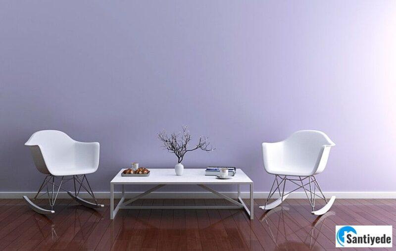 Lavanta Rengi ile Evi Aydınlık Gösteren Renkler
