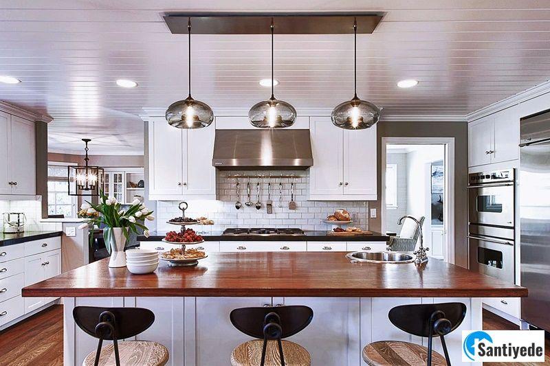 mutfak aydınlatma fikirleri