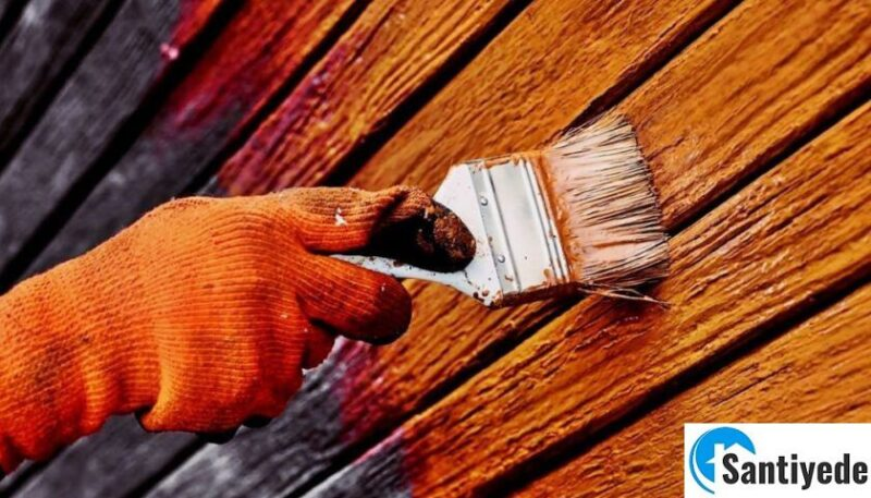 ahşap kapı boyama