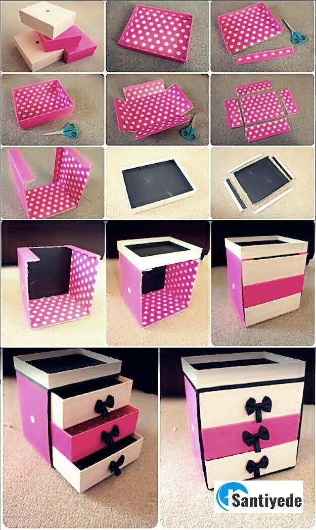karton kutu kaplama geri dönüşüm tasarımları
