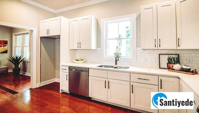 en kullanışlı mutfak dolabı renkleri ve malzemesi