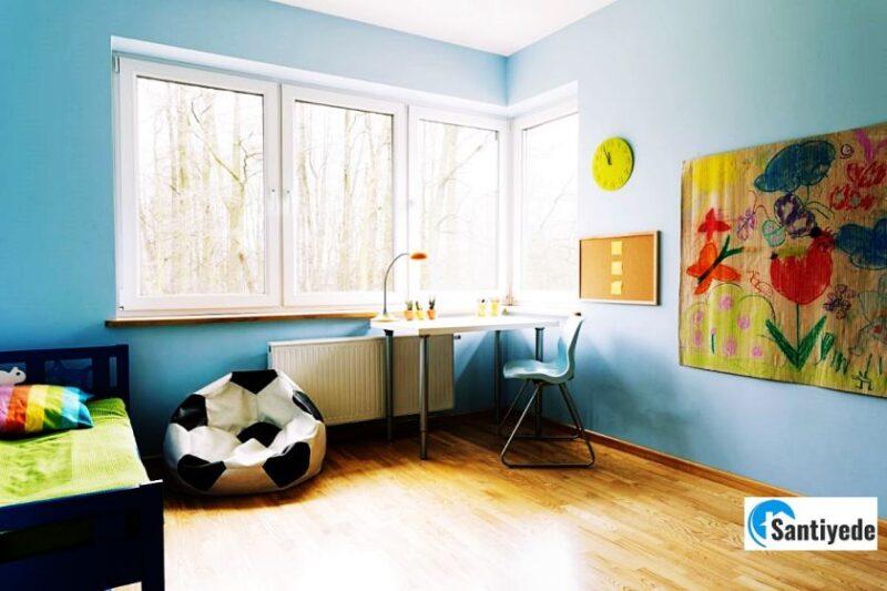 erkek çocuk odası renkleri