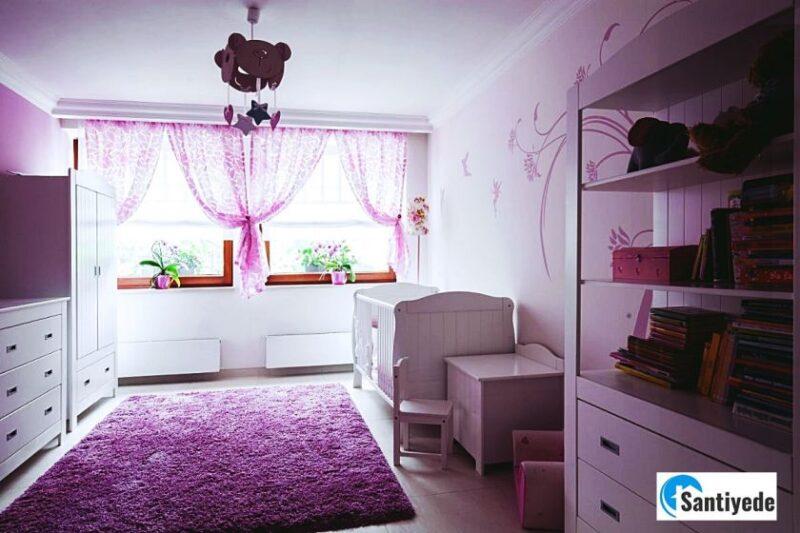 kız çocuk odası renkleri