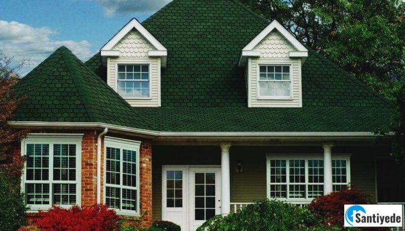 Bitümlü shingle çatı kaplama