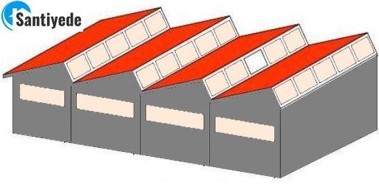 şed testere dişli çatı çeşitleri